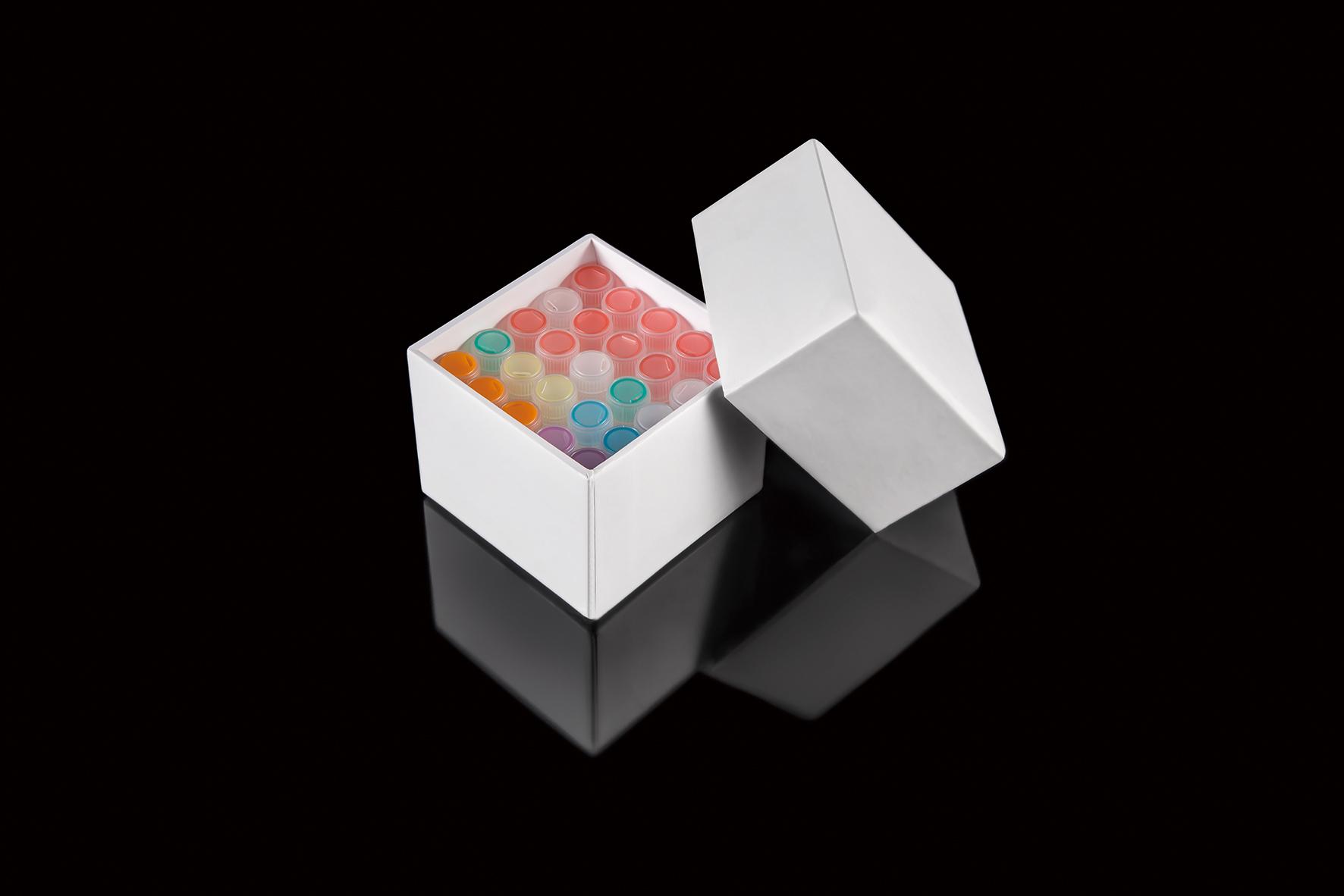 25格2ml纸制冷冻管盒