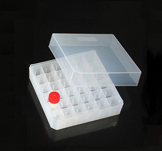 """<p align=""""left""""> 36孔5ml冻存管盒 </p>"""